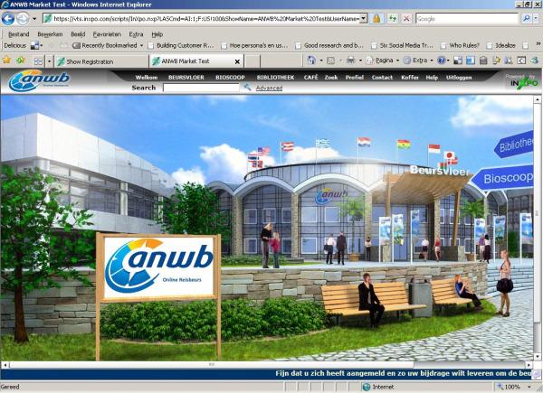 ANWB Online Reisbeurs