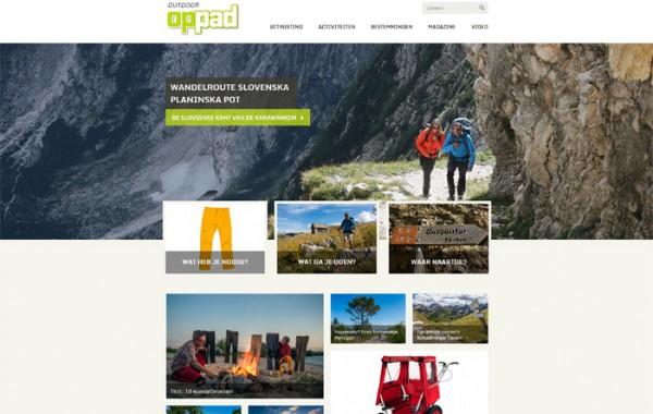 Oppad.nl, outdoor magazine van de ANWB