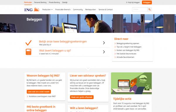 Customer journey expert (a.i.) ING Beleggen