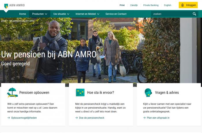 Online Sales Specialist (a.i) ABN AMRO Pensioen